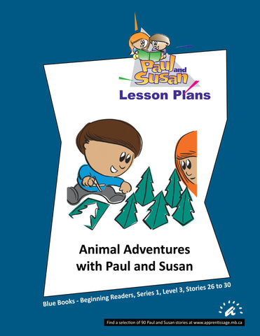 Paul and Susan - Blue Books 26 to 30 Lesson plans