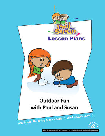 Paul and Susan - Blue Books 6-10 Lesson plans