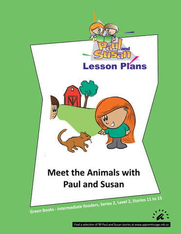 Paul and Susan - Green Books 11-15 Lesson plans