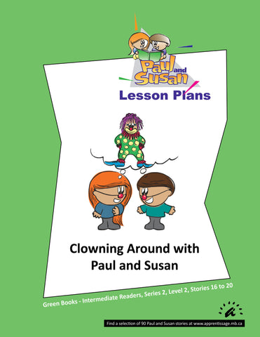 Paul and Susan - Green Books 16-20 Lesson plans