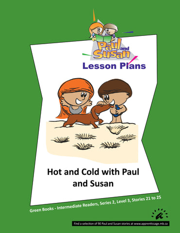 Paul and Susan - Green Books 21-25 Lesson plans