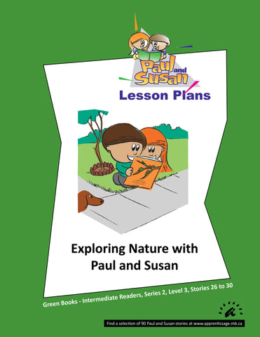 Paul and Susan - Green Books 26-30 Lesson plans
