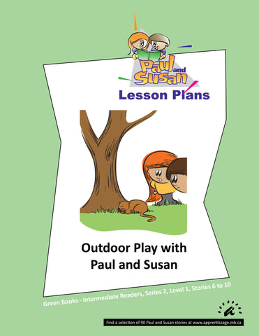Paul and Susan - Green Books 6-10 Lesson plans