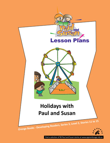Paul and Susan - Orange Books 11-15 Lesson plans