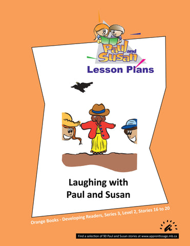 Paul and Susan - Orange Books 16-20 Lesson plans