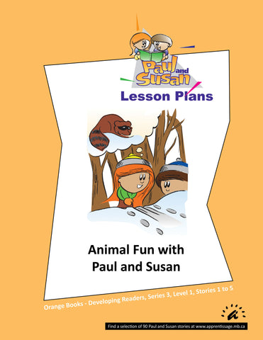 Paul and Susan - Orange Books 1-5 Lesson plans
