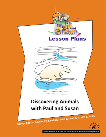 Paul and Susan - Orange Books 21-25 Lesson plans