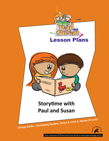 Paul and Susan - Orange Books 26-30 Lesson plans
