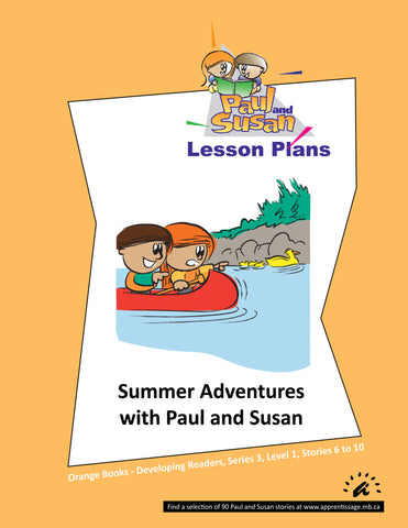 Paul and Susan - Orange Books 6-10 Lesson plans