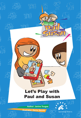 Blue Books 16 to 20 - Let's Play with Paul and Susan