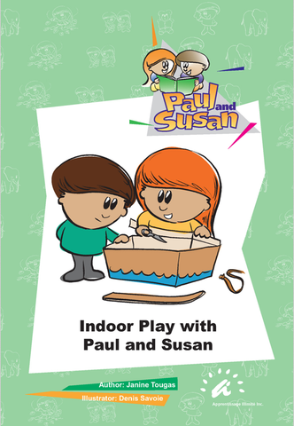 Green Books 1 to 5 - Indoor Play with Paul and Susan