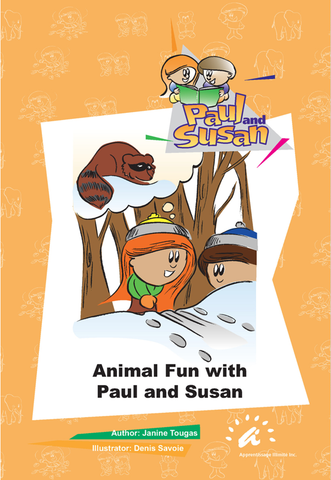 Orange Books 1 to 5 Animal Fun with Paul and Susan