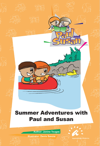 Orange Books 6 to 10 Summer Adventures with Paul and Susan