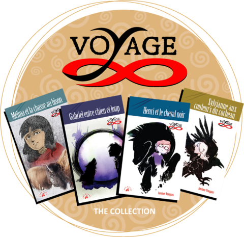 Collection Voyage - 4 books