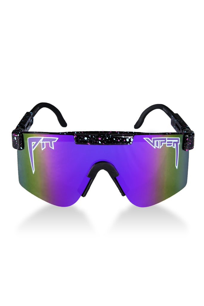 The Night Falls Black and Purple Pit Viper Sunglasses
