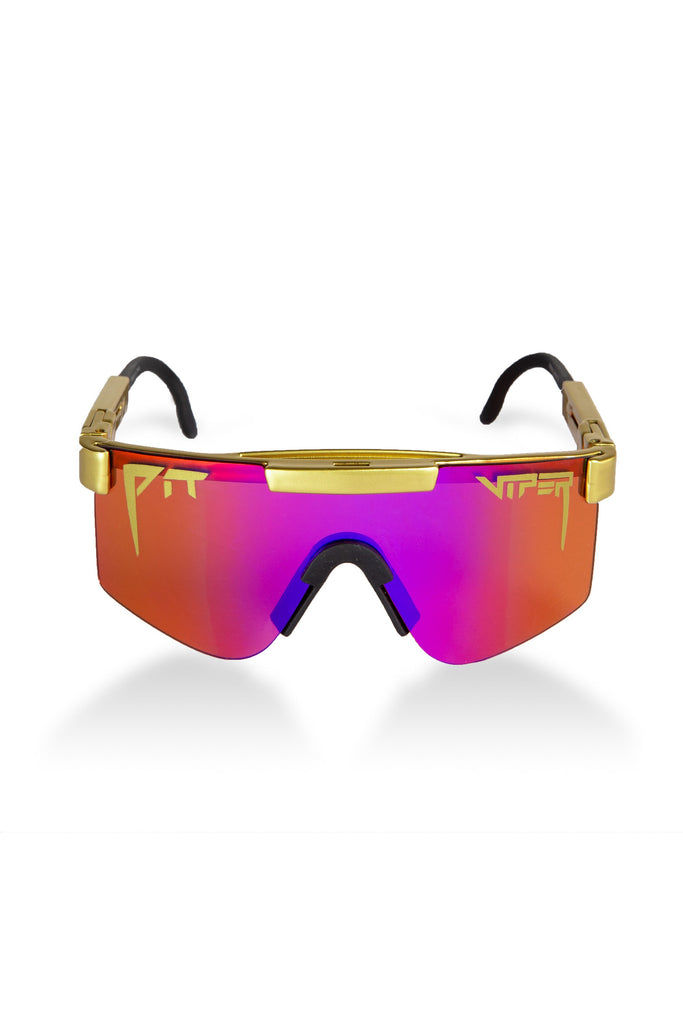 Crown Royalty Purple Pit Viper Sunglasses