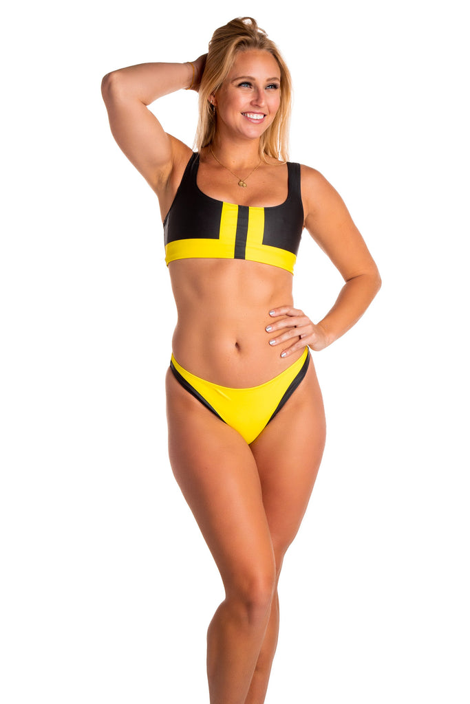 When Life Gives You Lemons | Women's Yellow Bikini Bottom