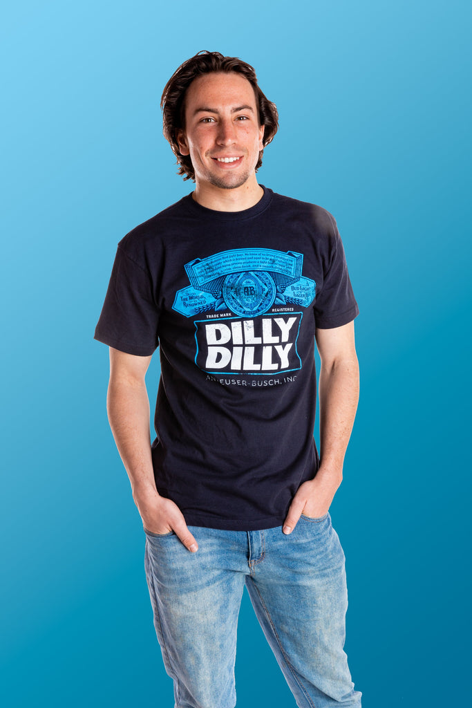 Dark Blue Dilly Dilly | Bud Light Label Pop Top