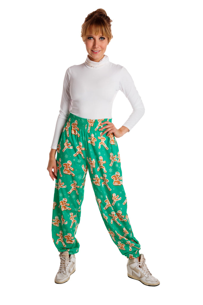The Ninja Bread | Women's Gingerbread Cookie Christmas Pants
