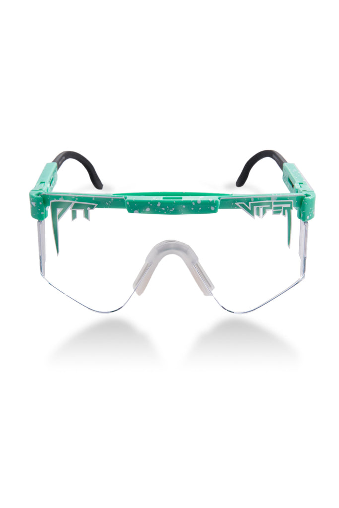 The Poseidon Mint Green Night Shade Pit Viper Sunglasses
