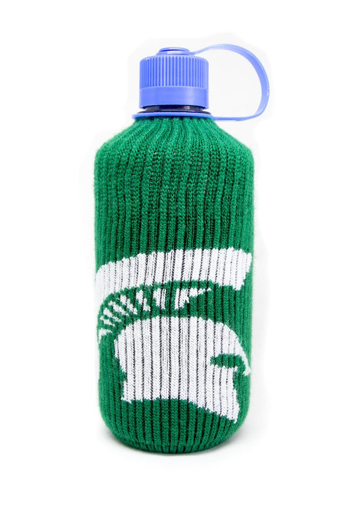 The Michigan State Water Bottle Sock