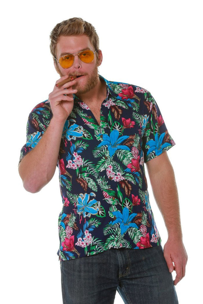 The Barge Party Hawaiian Short Sleeve Button Down