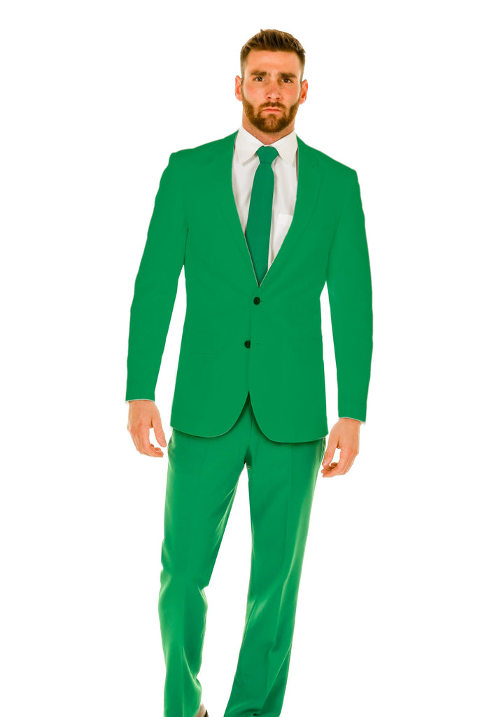 The Hand Grenade Mens Green Suit