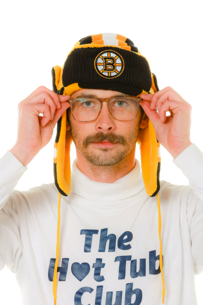 The Boston Bruins NHL Trapper Hat