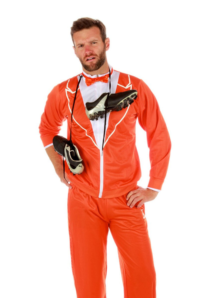 The Orange Hazard Traxedo Track Suit