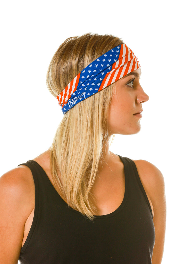 Gals Loyalist American Flag Headband