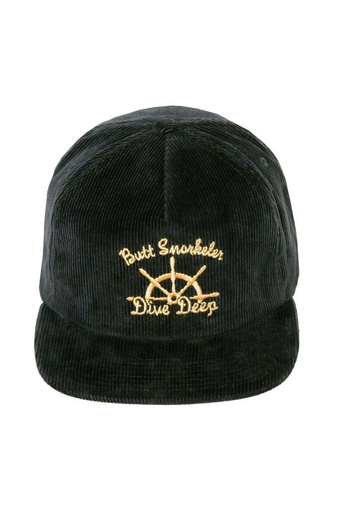 The Rear Steerer Butt Snorkeler Snapback Hat