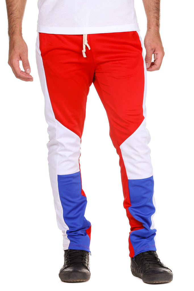 The Dirty Disicks Red, White, and Blue Track Pants