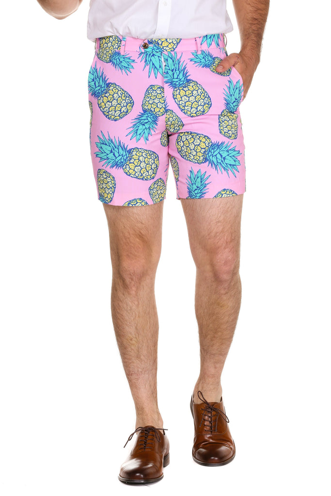 The Rum Rippers Men's Pineapple Shorts