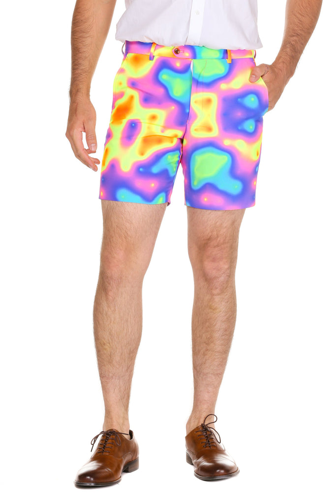 The Heat Wave Men's Heat Map Shorts