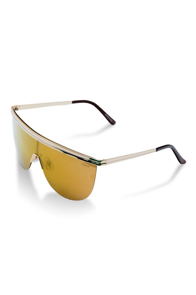 The Cartels Gold Polarized Sunglasses