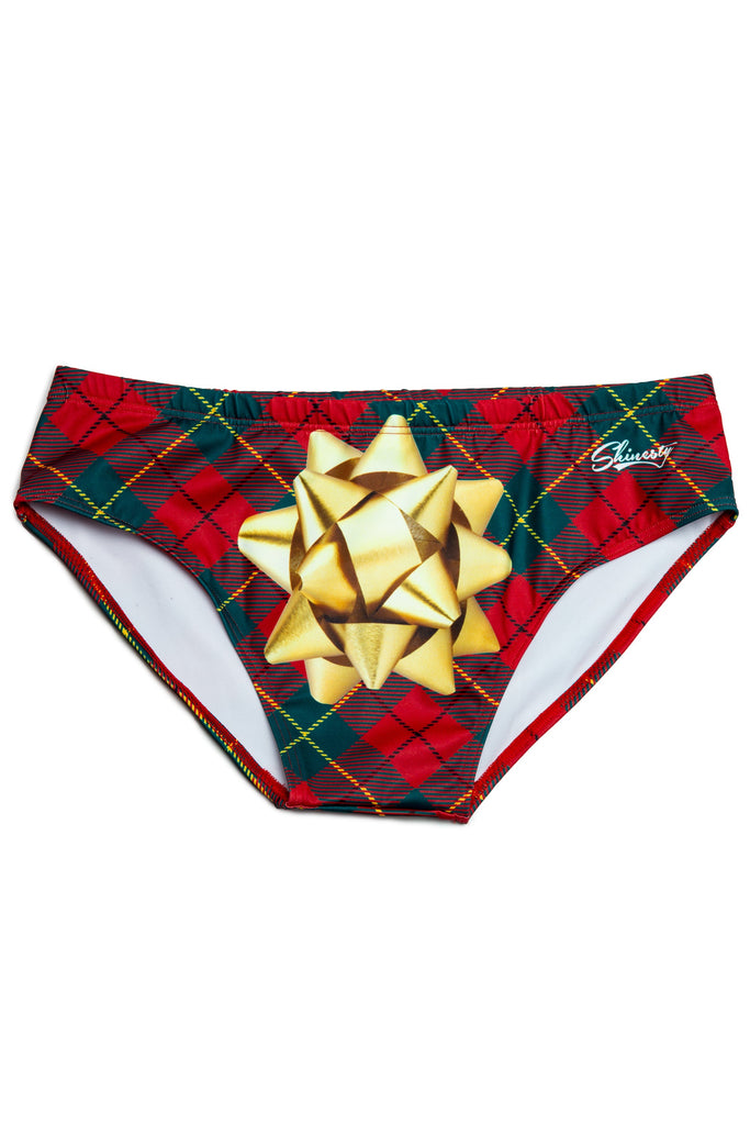 The Gift That Keeps On Giving Christmas Present Swim Brief