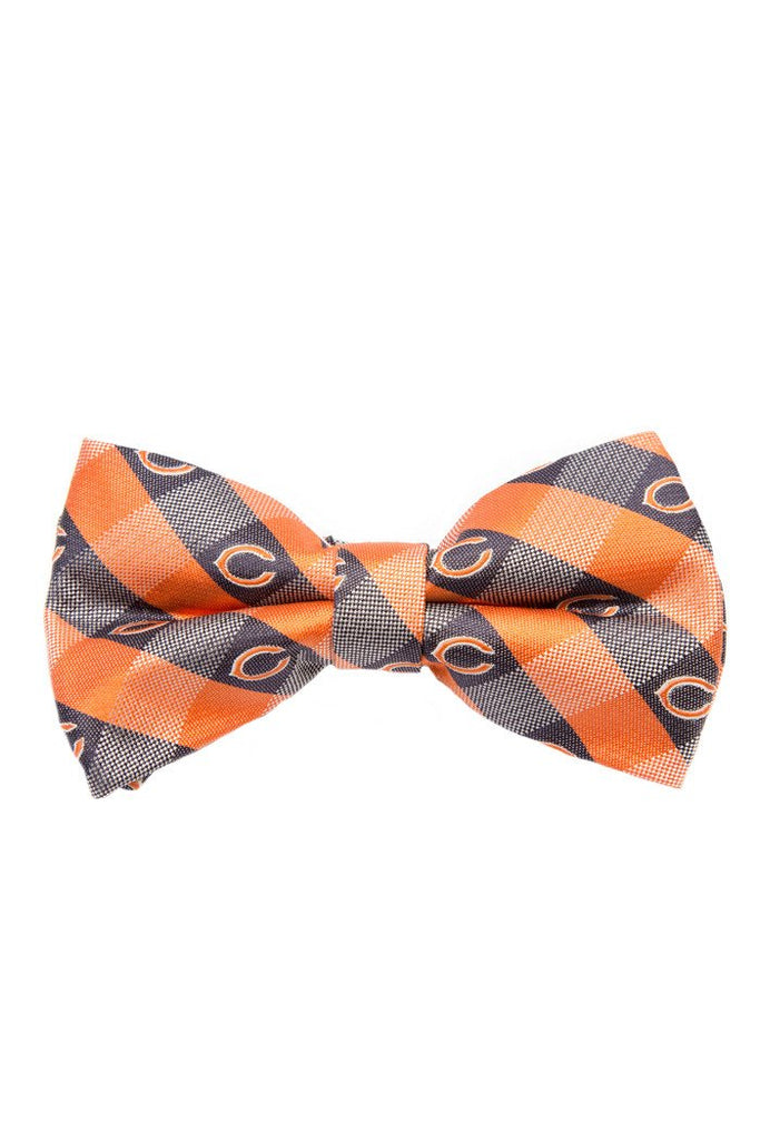 Chicago Bears Checkered Bow Tie