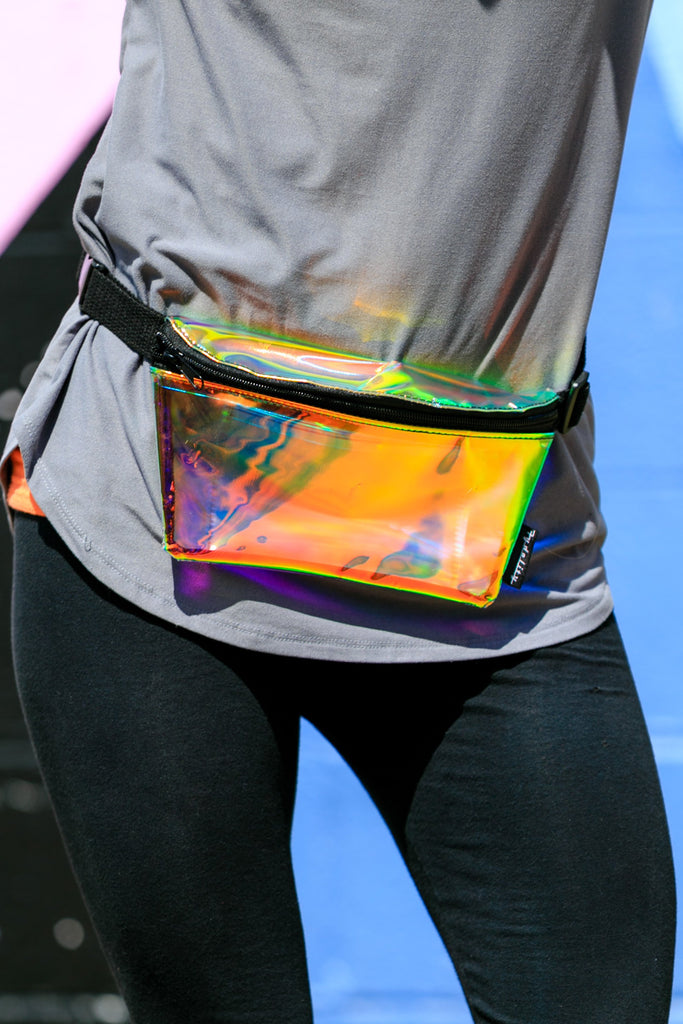 The Fifth Dimension Holographic Fanny Pack Womens