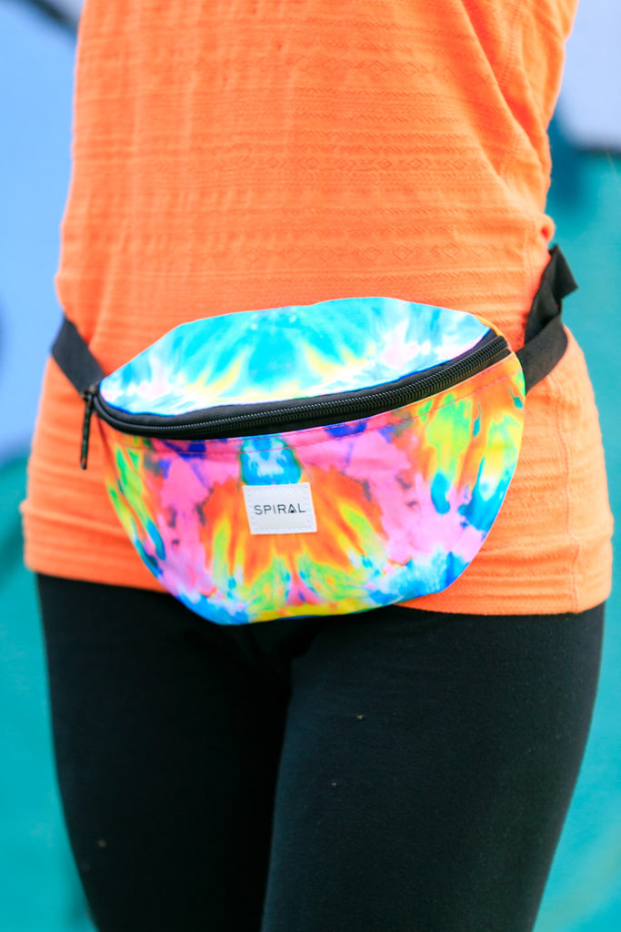The Women's Silly Putty Tie Dye Fanny Pack