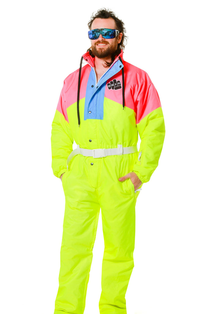 The Face Melter Neon Retro Ski Suit