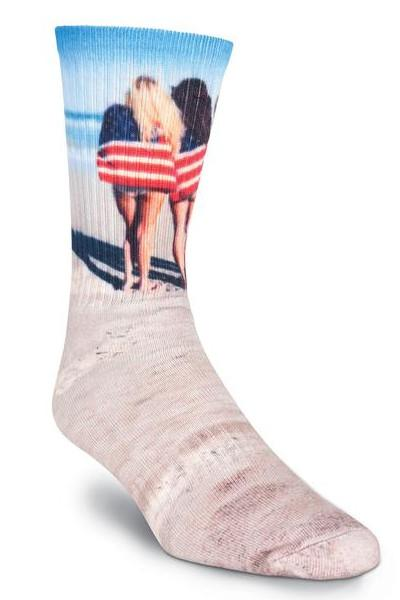 Insta-famous Independence American Flag Beach Socks