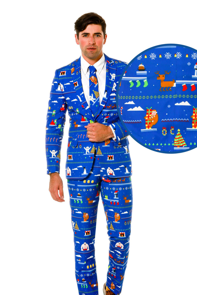 The 8-Bit Ugly Christmas Suit