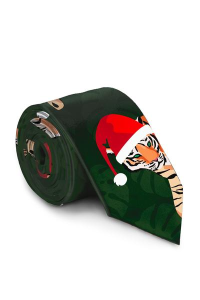 The Chrithmath Tiger Sthuit | Santa Tiger Tie