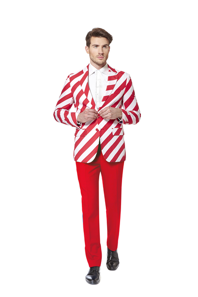 The Candy Cane Dagger Red Ugly Christmas Suit
