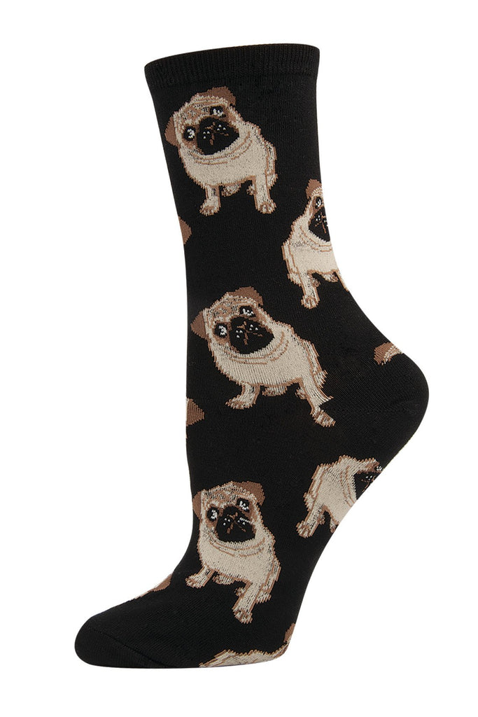 My Pug Doesnt Sock, Your Pug Socks Womens Socks