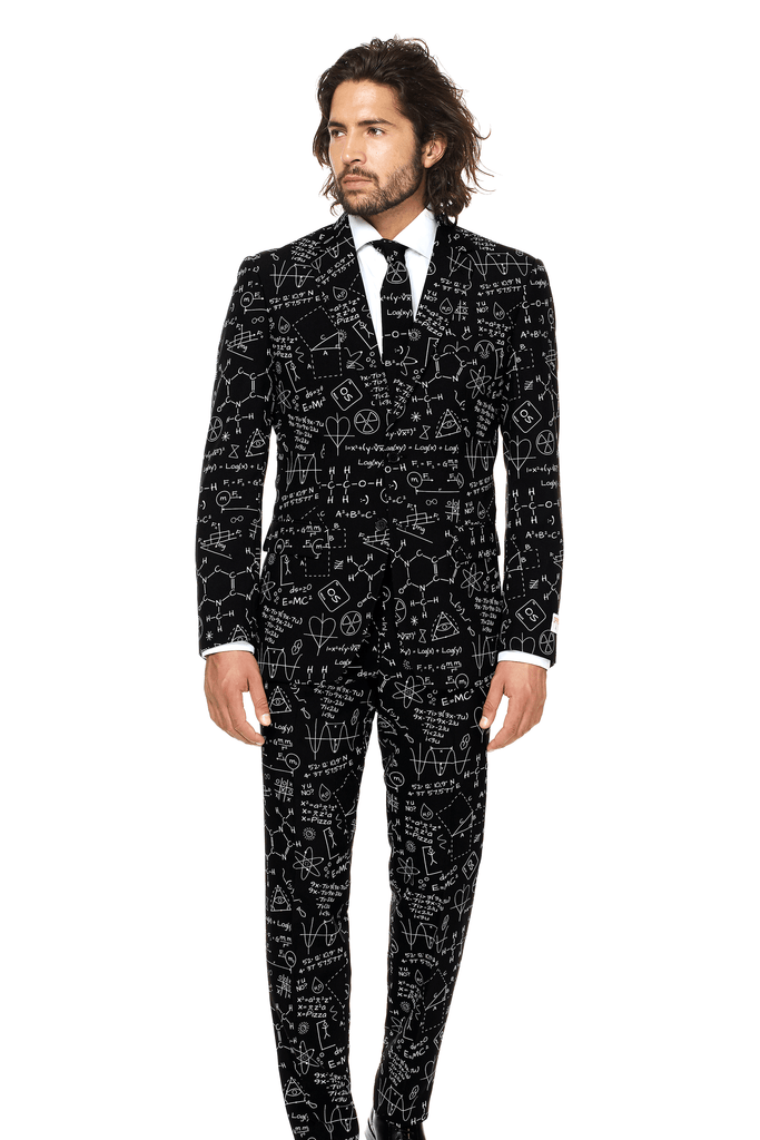 STEM is Sexy Men's Science and Math Suit by Opposuits