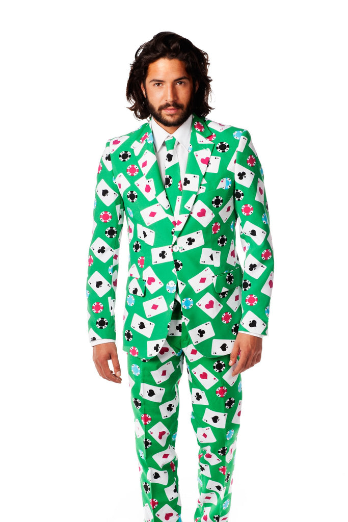 Vegas Bomb Poker Dress Suit by Opposuits