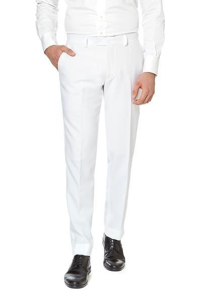 La Flama Blanca White Dress Pants
