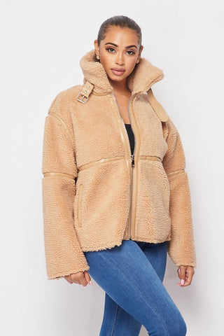 Winter Wonderland Sherpa Jacket