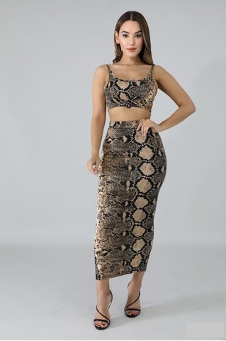 Slither Maxi Skirt Set